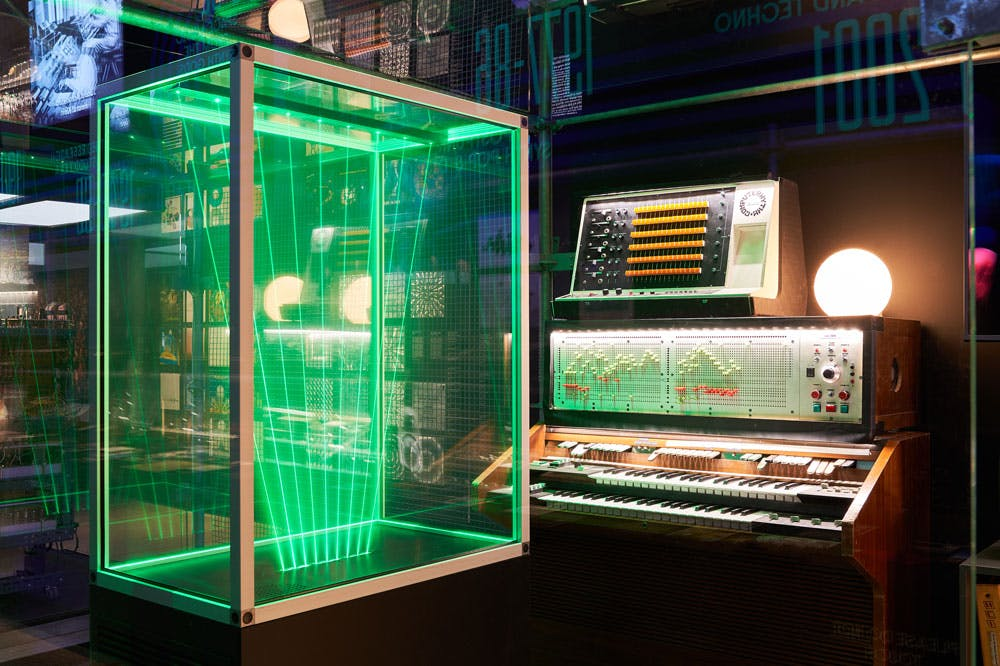 Jean Michel Jarre's imaginary studio