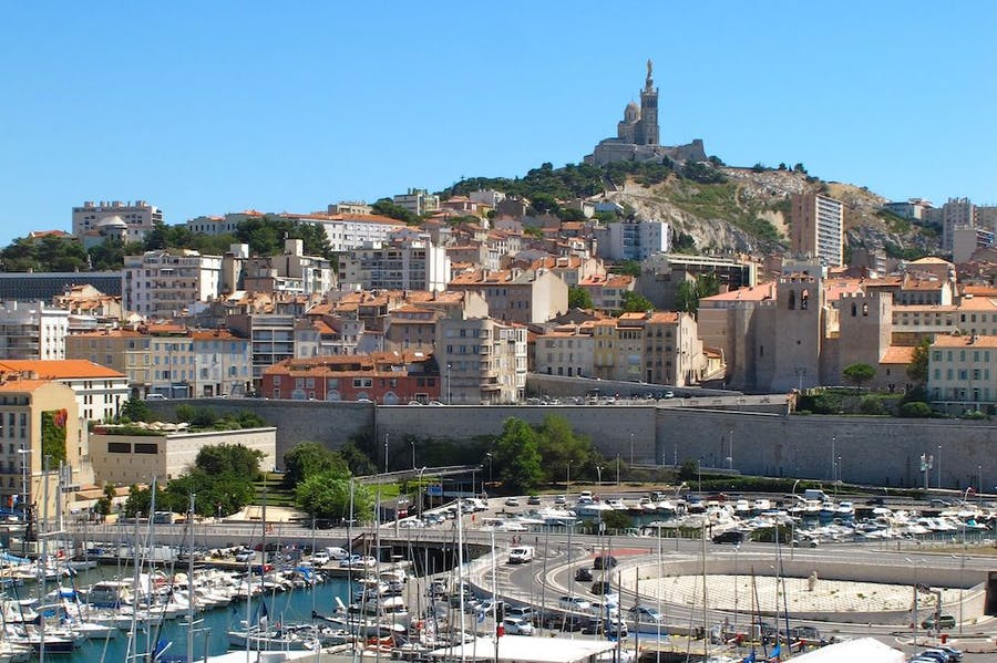 View of Marseilles.