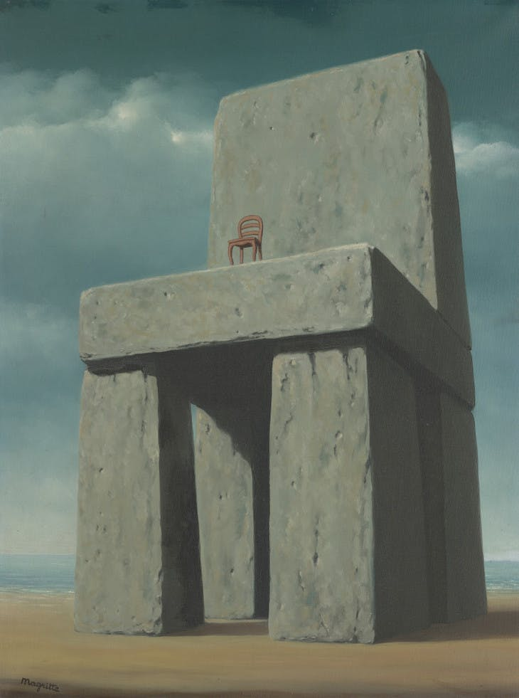 The Legend of the Centuries (1950), Rene Magritte.