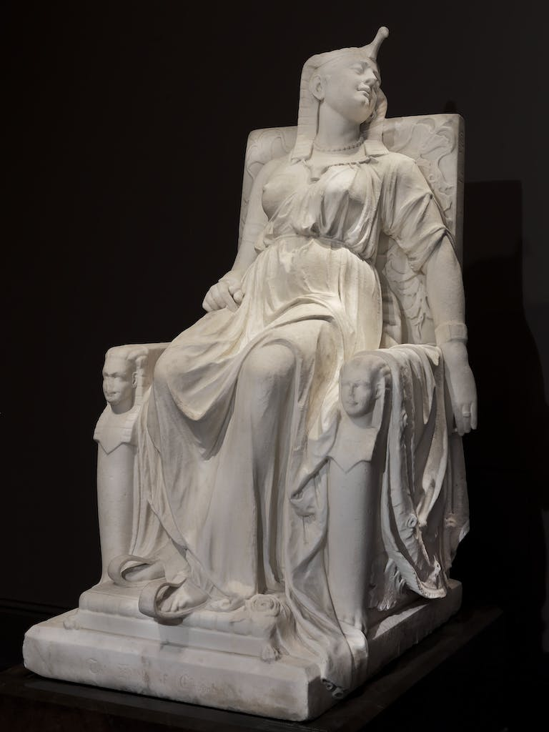 The Death of Cleopatra (1876), Edmonia Lewis.