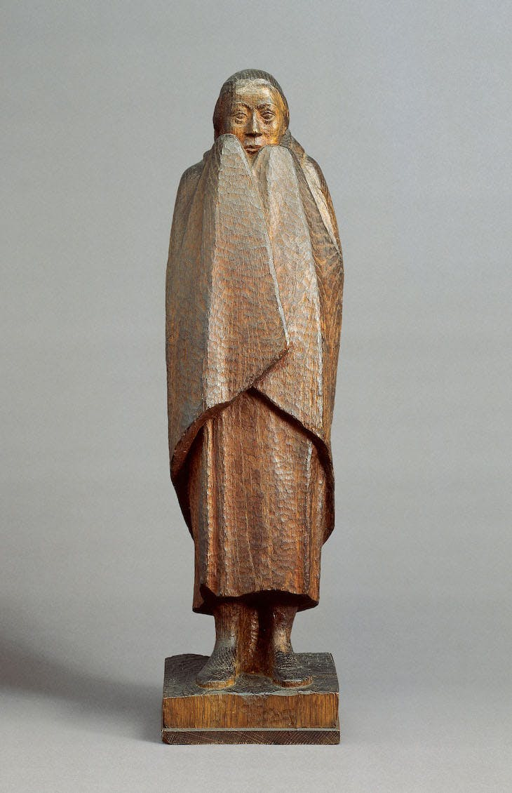 Freezing Girl (1917), Ernst Barlach.