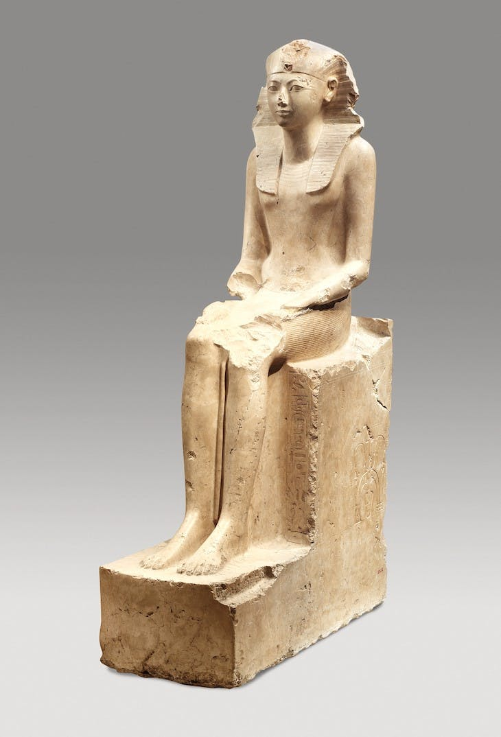 Seated Statue of Hatshepsut (c. 1479–1458 B.C), Egypt.