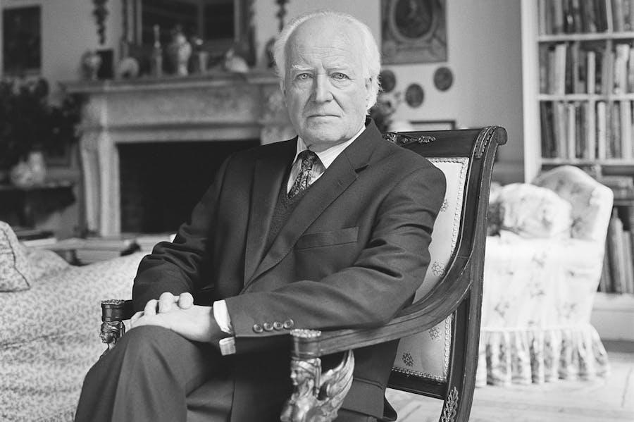 Desmond Guinness. Photo: Amelia Stein; courtesy Irish Georgian Society