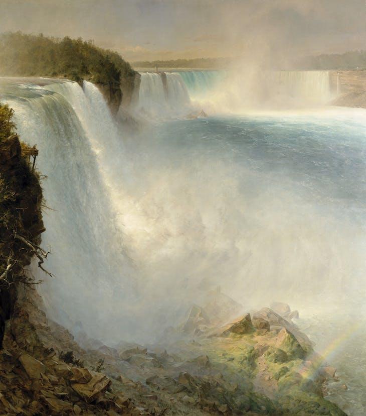 Niagara Falls, from the American Side (1867), Frederic Edwin Church.