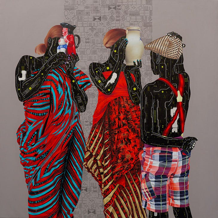 Mémoire Fragile 1 (2020), Eddy Kamuanga Ilunga.