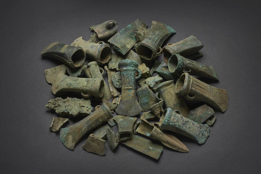 A selection of objects from the Havering Hoard (c. 800–c. 900 BC)
