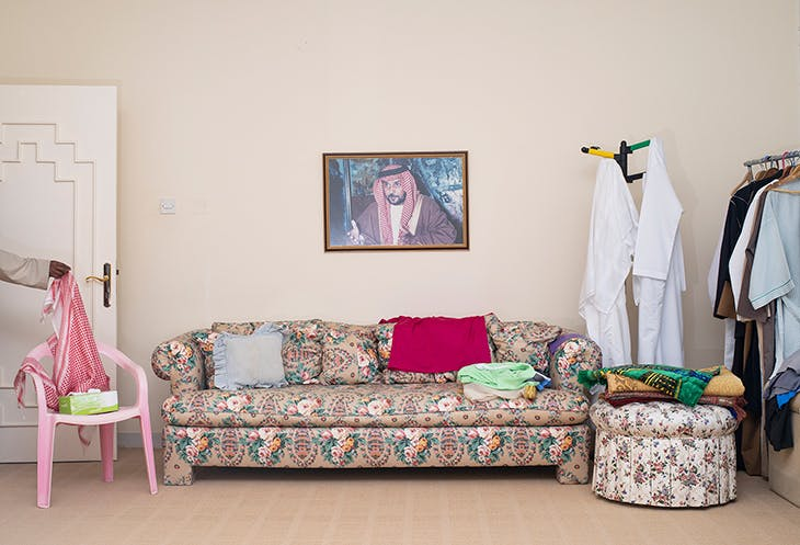 Bedroom (Baba) (2018), from the Arrival series, Farah Al Qasimi. Courtesy the artist and The Third Line, Dubai; © the artist