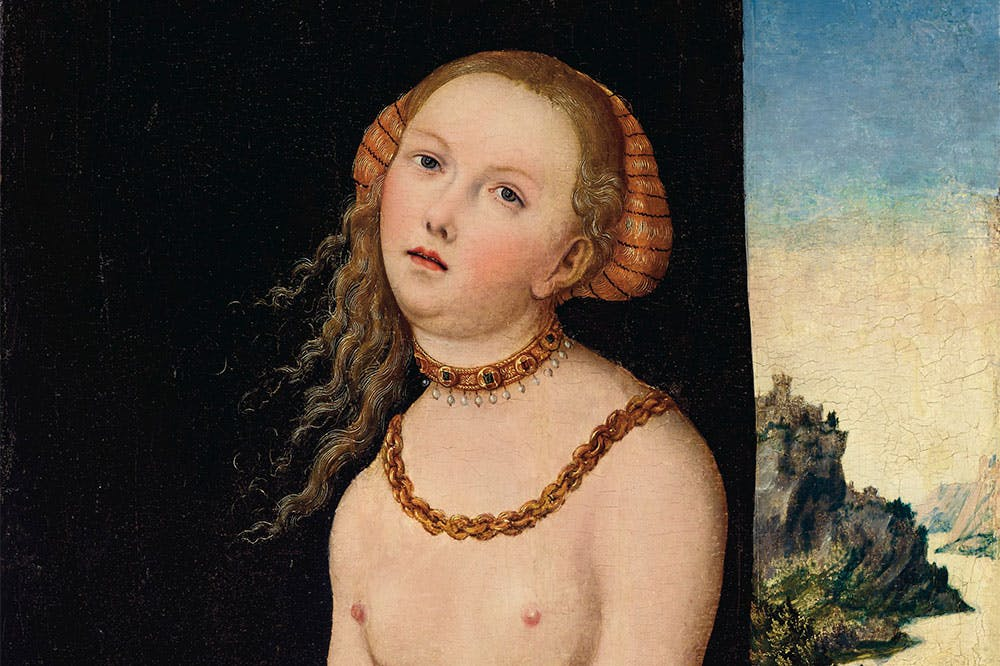 Lucretia (c. 1526–37), Lucas Cranach the Elder.