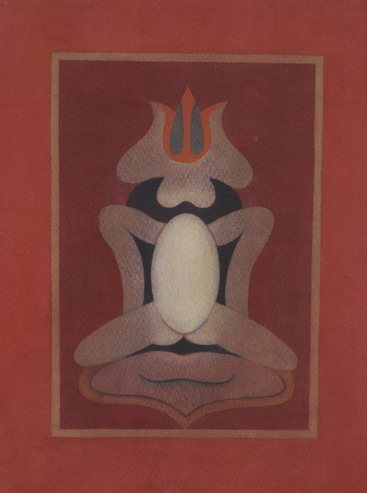 Untitled (1970s), Ghulam Rasool Santosh.