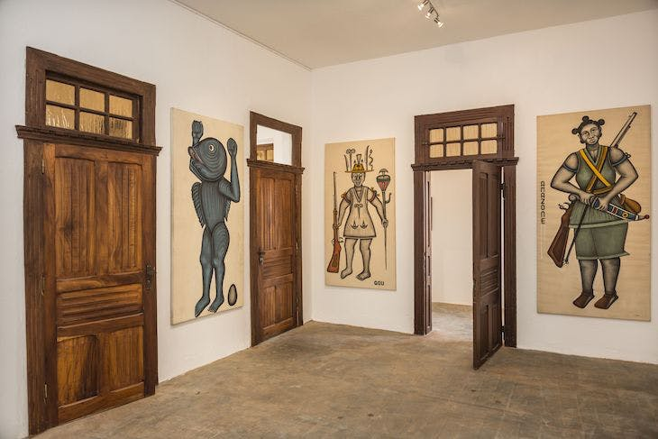 The Salle Cyprien Tokoudagba at the Museum of Contemporary Art, Ouidah