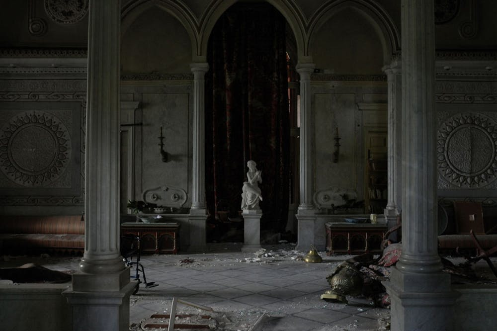 The Sursock Palace in the aftermath of the 4 August blast. Photo: Gregory Buchakjian