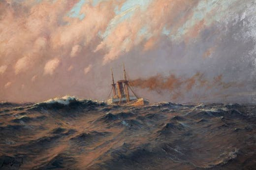 Stormy Evening, Hely Augustus Morton Smith.