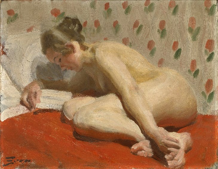 Study of a Nude (1891-92), Anders Zorn.