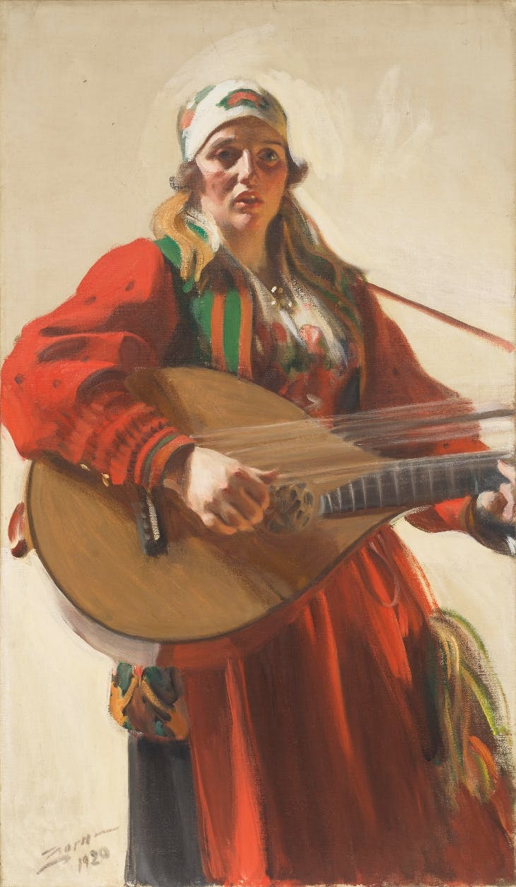 Home Tunes (1920), Anders Zorn.