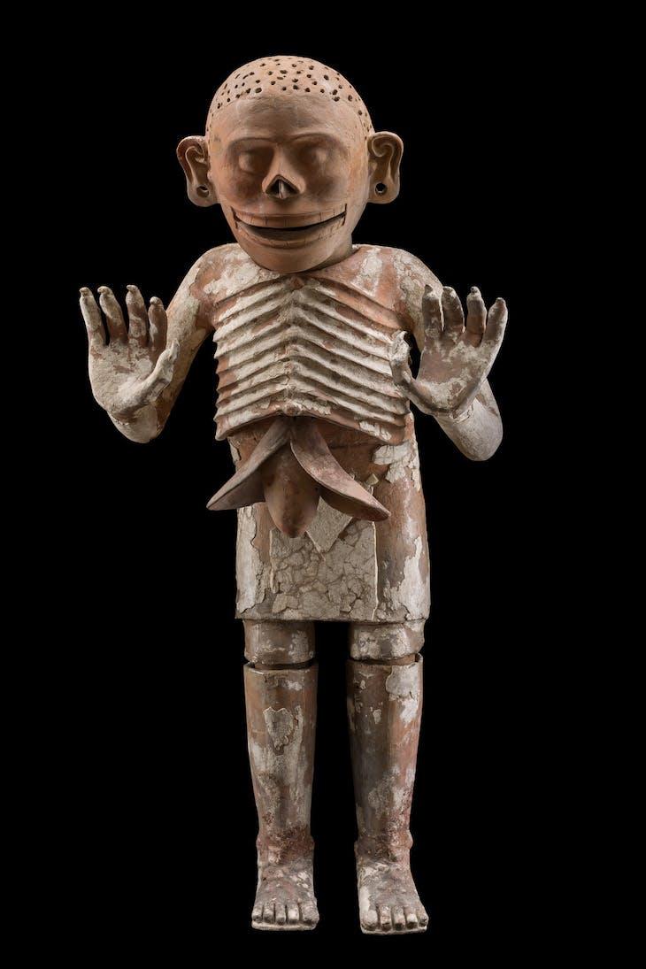 Mictlantecuhtli (detail; c. 1430–1502), Aztec, Mexico.