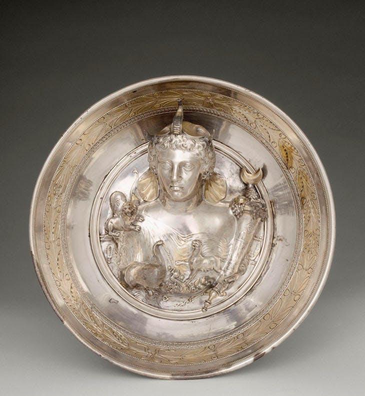 Dish (first century BC–first century AD), Boscoreale, Italy.