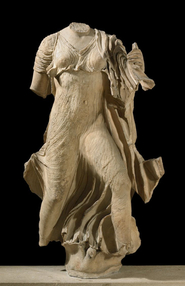 Statue from the Nereid Monument (c. 390–380 BC), Lycia. British Museum, London