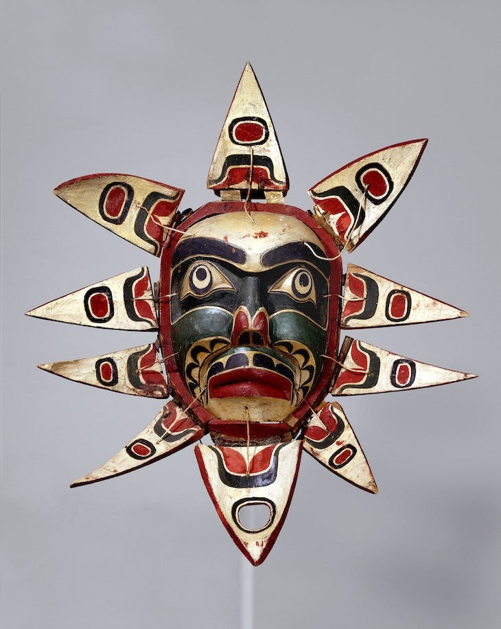 Mask (c. 1910), Kwakwaka'wakw people.