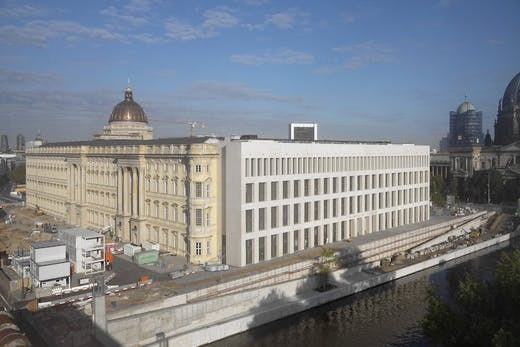 The Humboldt Forum in the centre of Berlin, due to open in December 2020.