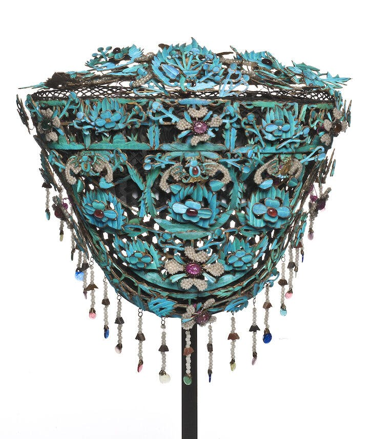 Headdress (19th century), China.