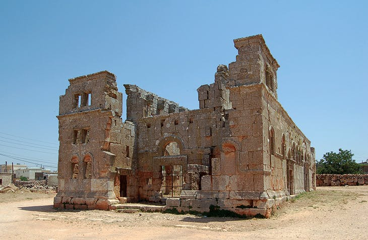 The church of Qalb Lozeh, Idlib province, constructed in the mid fifth century (photo: 2010)