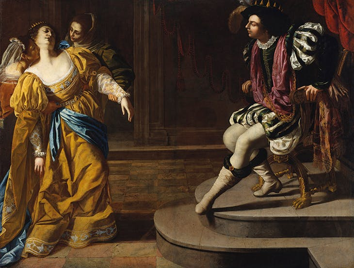 Esther before Ahasuereus (c. 1628–30), Artemisia Gentileschi. Metropolitan Museum of Art, New York