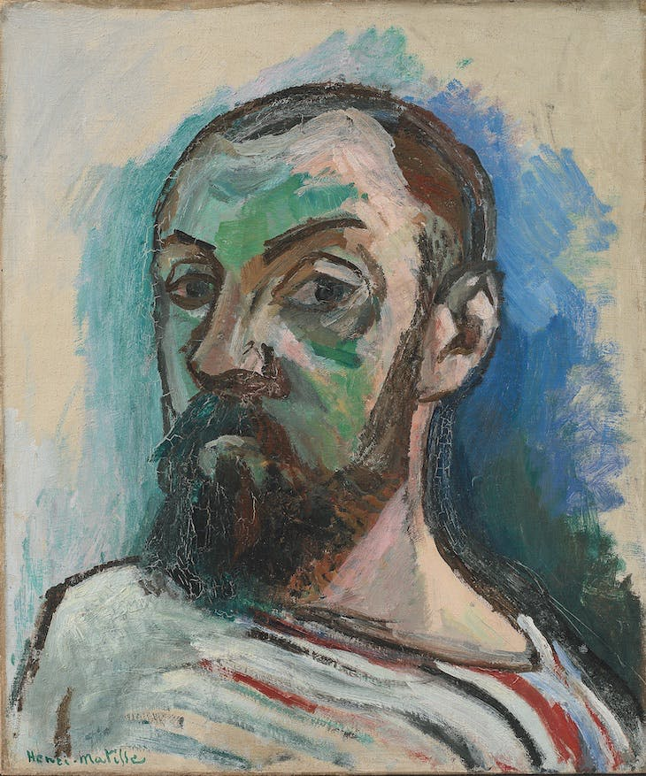 Self-portrait (1906), Henri Matisse.