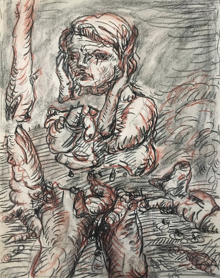 Untitled (1967), Georg Baselitz.
