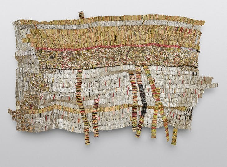 Earth Growing Roots (2007), Al Anatsui.