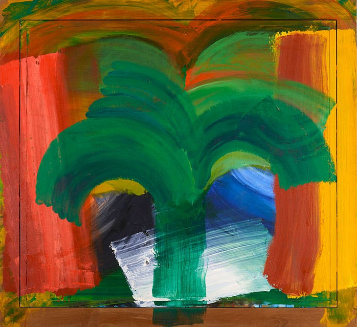 In Tangier (1987–90), Howard Hodgkin.
