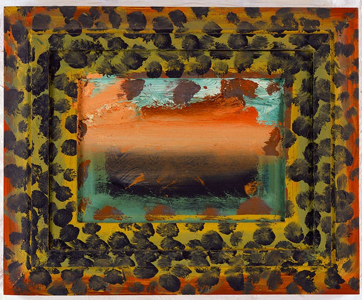 View from Venice (1984–85), Howard Hodgkin.