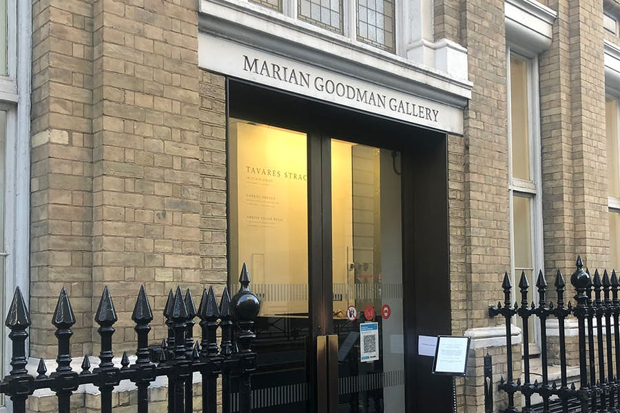 Marian Goodman Gallery's outpost in Golden Square