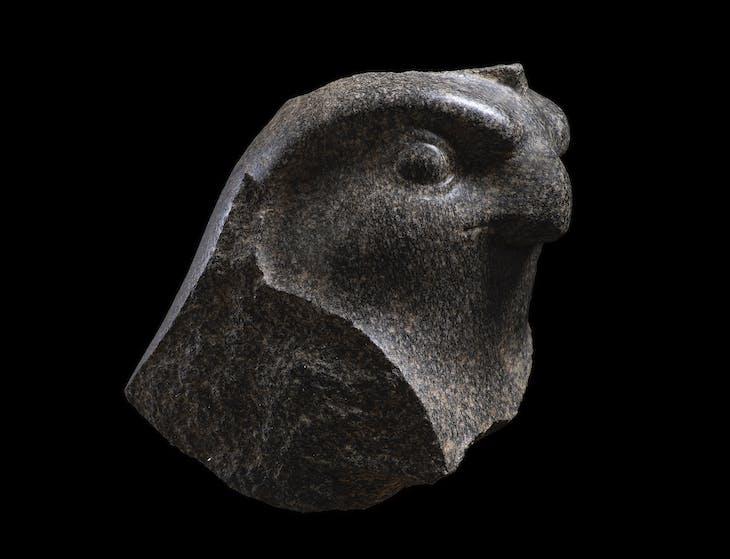 Horus as a falcon (664–630 BC), Egypt.