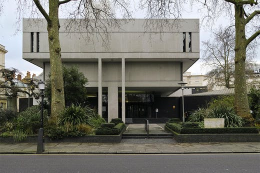 The headquarters of the Royal College of Physicians in Regent's Park.
