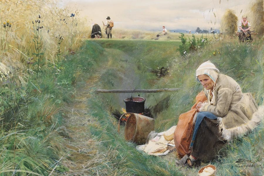 Our Daily Bread (1886-1909), Anders Zorn.