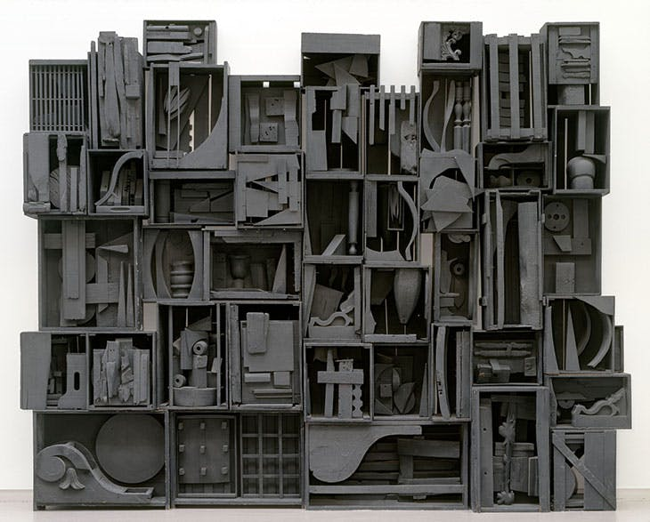Sky Cathedral III (1959), Louise Nevelson.