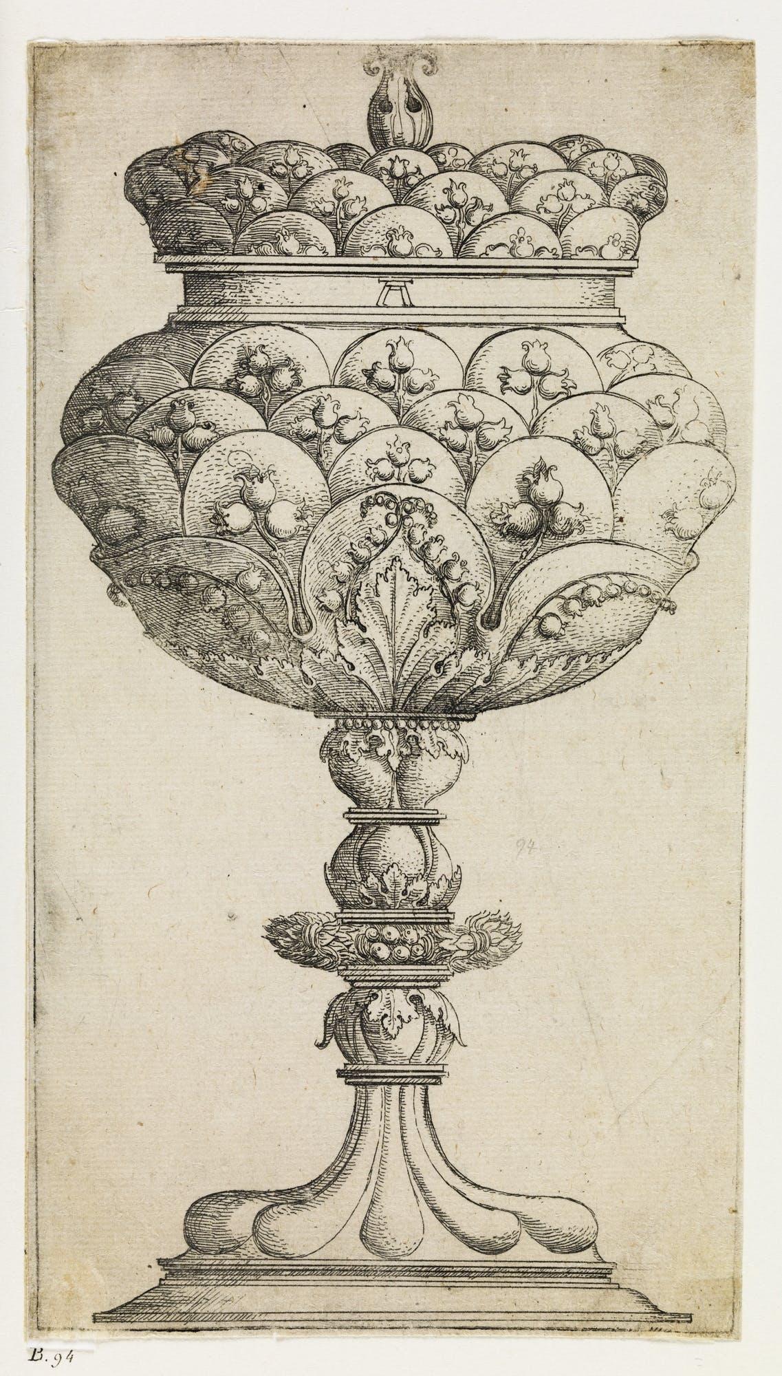 Gobelet aux fleurs de muguet (c. 1520-25), Albrecht Altdorfer.