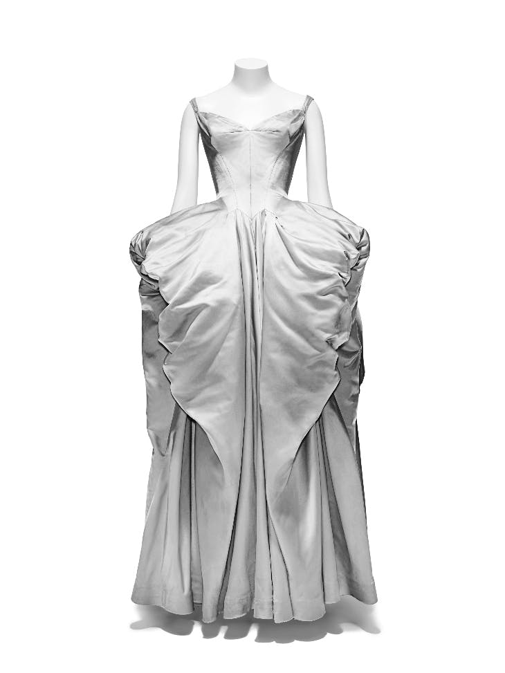 Ball gown (1951), Charles James.