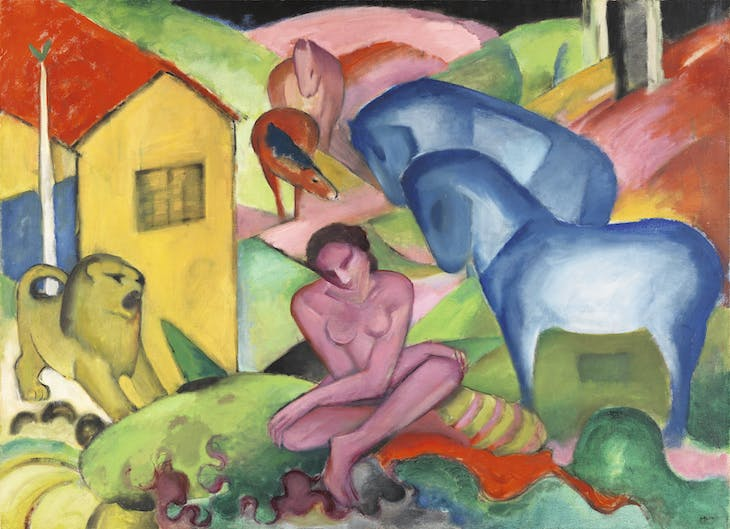 The Dream (1912), Franz Marc.
