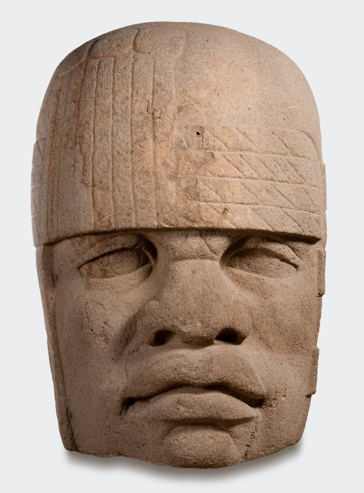 Colossal head (1200-900 BC).
