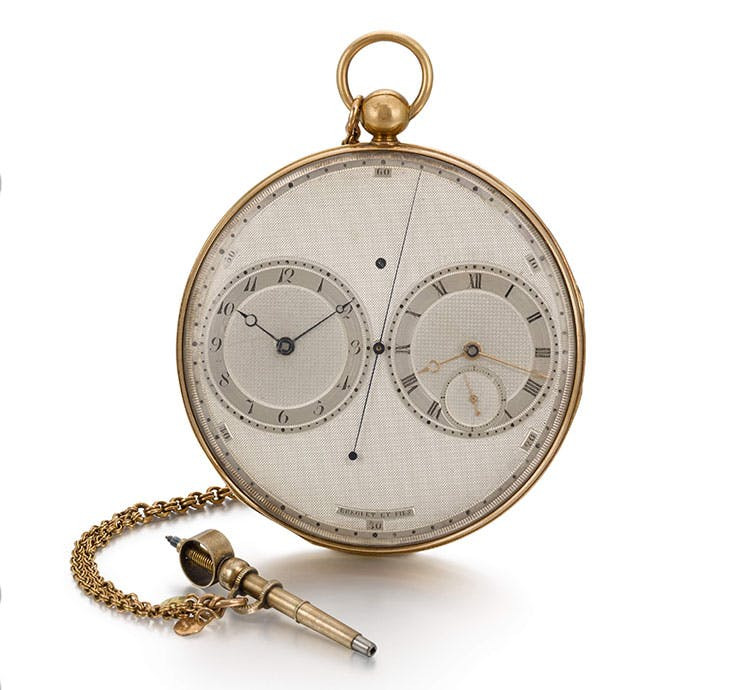 The Prince Regent's No. 2788, produced by Breguet in 1812–18. Sotheby's, London (£400,000–£600,000)