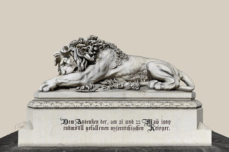 Anton Dominik Fernhorn's The Lion of Aspern memorial (1858) on Sketchfab