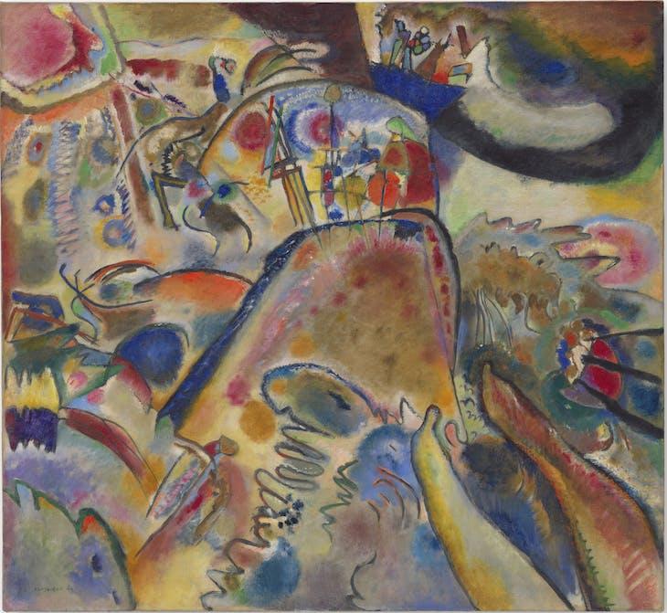 Small Pleasures (1913), Vasily Kandinsky.