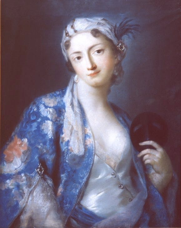 Portrait of Felicità Sartori (1740–41), Rosalba Carriera.