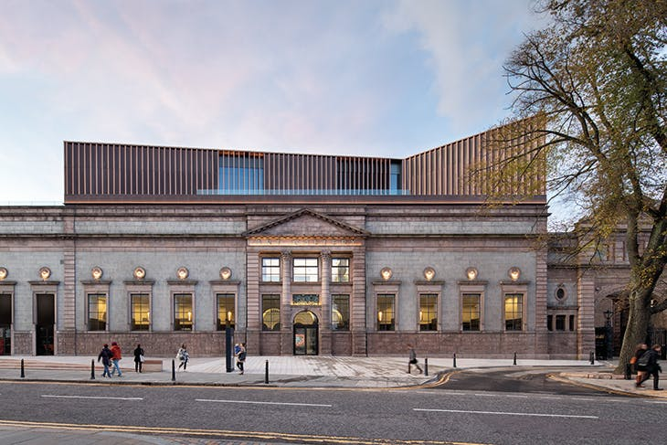 Photo: Gillian Hayes of dapple photography; courtesy Hoskins Architects and Aberdeen Art Gallery and Museums