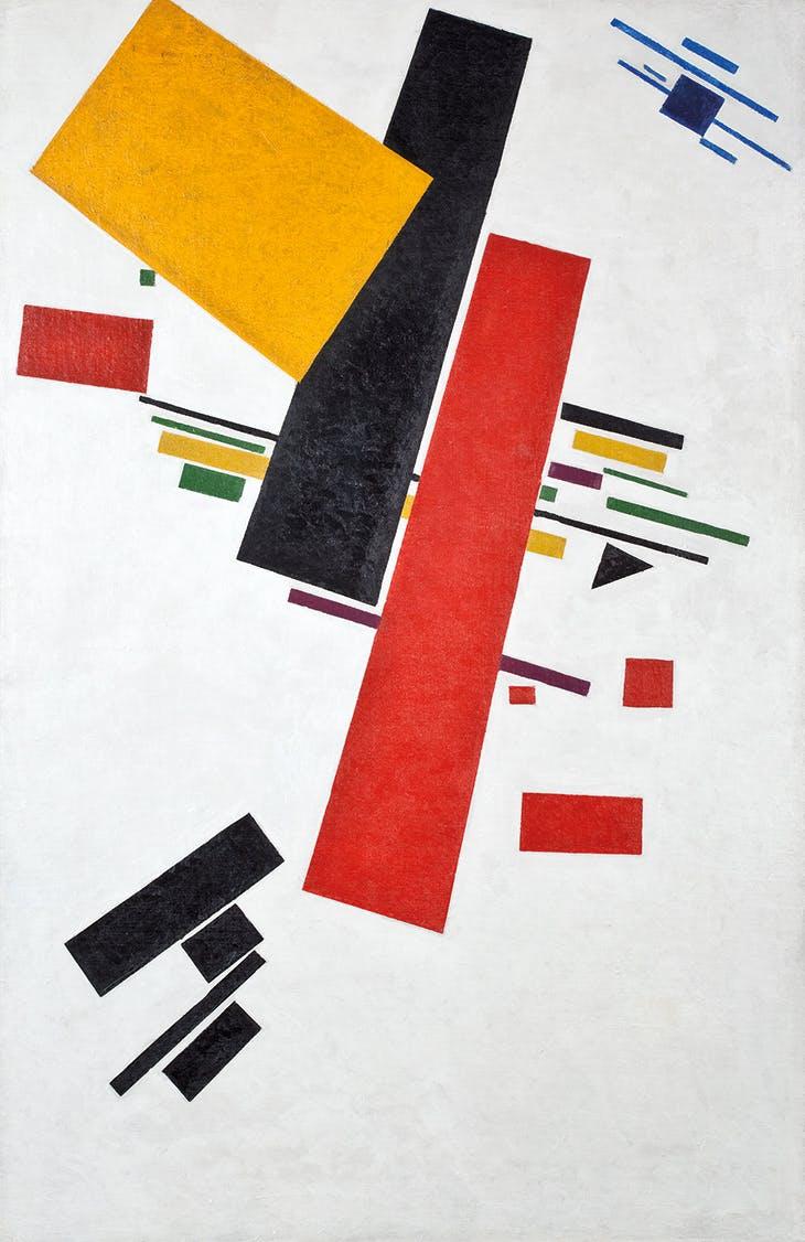 (1916), Kazimir Malevich. Museum Ludwig, Cologne. Photo: Rheinisches Bildarchiv, Cologne