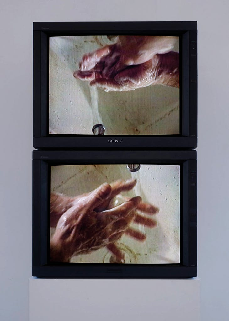 Washing Hands Normal (1996), Bruce Nauman. Tate, London, and National Galleries of Scotland