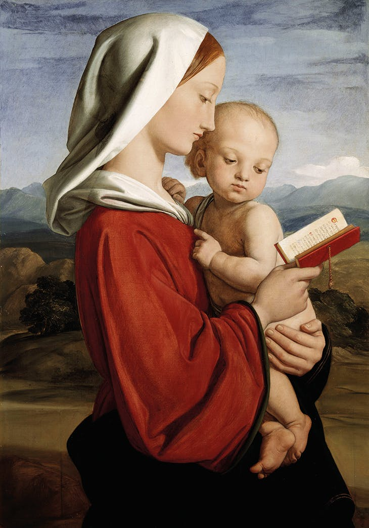 Madonna and Child (1845), William Dyce.