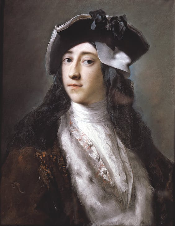 Portrait of Gustavus Hamilton, 2nd Viscount Boyne (c. 1730–31), Rosalba Carriera.