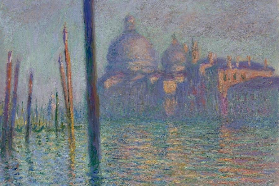 Grand Canal (1908), Monet.